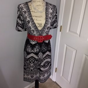 Women's v-neck tunic dress NWOT